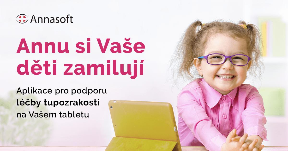 Annasoft | Aplikace pro podporu léčby tupozrakosti na Vašem tabletu